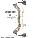 "Łuk BOWTECH Carbon ICON G2 26.5-30.5"" 60# (Flat Dark Earth)"