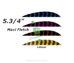 "Lotka Barred Parabolic Trueflight 5.3/4"" Maxi Fletch"