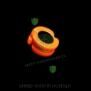 Peep Sight GLOWPEEP Orange 1/4""