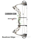 "Łuk BOWTECH Carbon ICON G2 70# camo 26.5-30.5"" Realtree Edge"